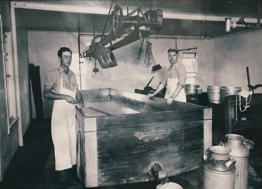 Charles Ebert Cheese Factory