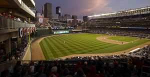 Target field at night
