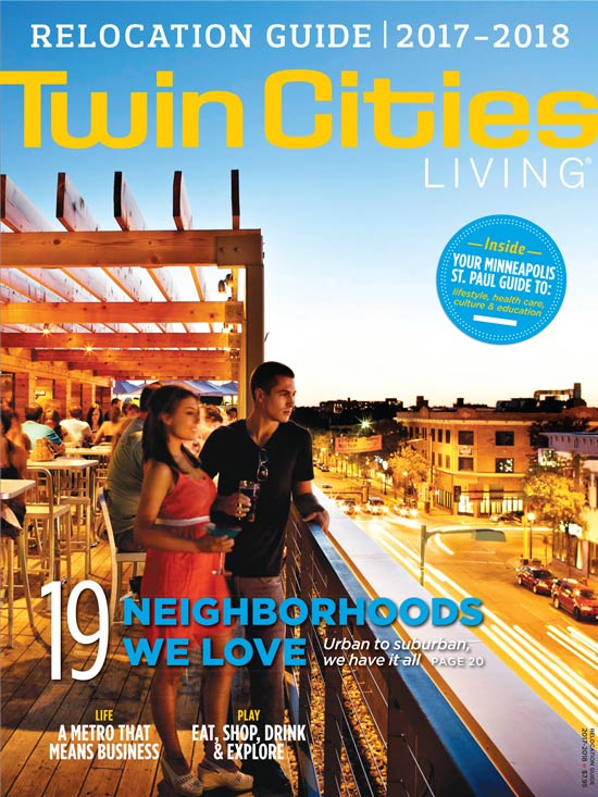 Twin Cities Living 2016-2017 Cover
