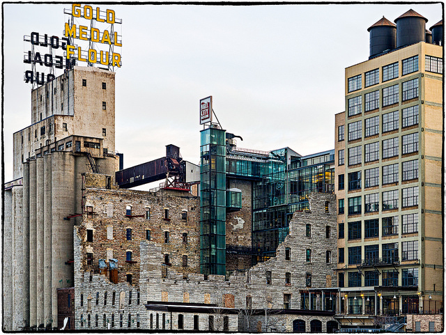 "Mill City Museum, Minneapolis. Image by <a href=""https://flic.kr/p/CTvYoD"" target=""_blank""> Henk Sijgers/flickr</a>"