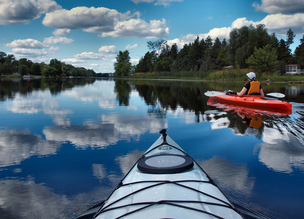 Kayaking the Mississippi