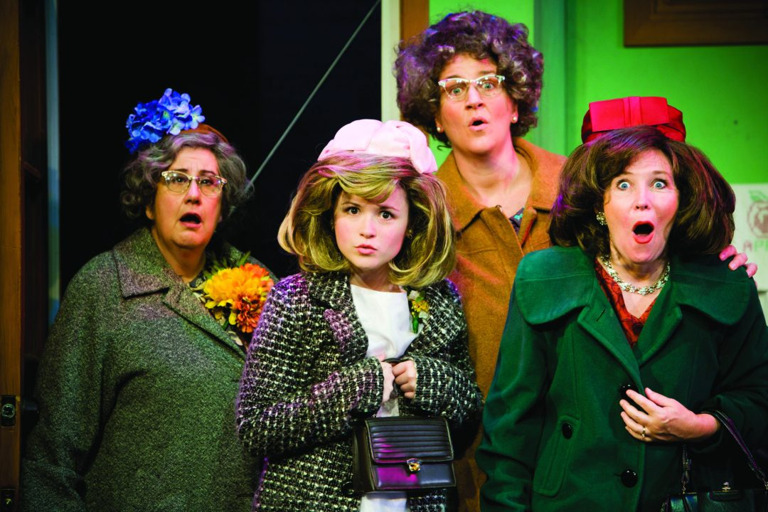 """Church Basement Ladies. Image by Plymouth Playhouse <a href=""""http://plymouthplayhouse.com/"""" target=""""_blank"""">Plymouth Playhouse</a>"""