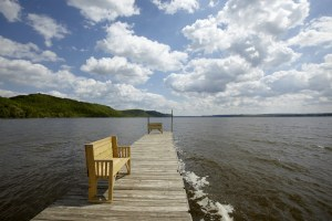 Pier on Lake Pepin