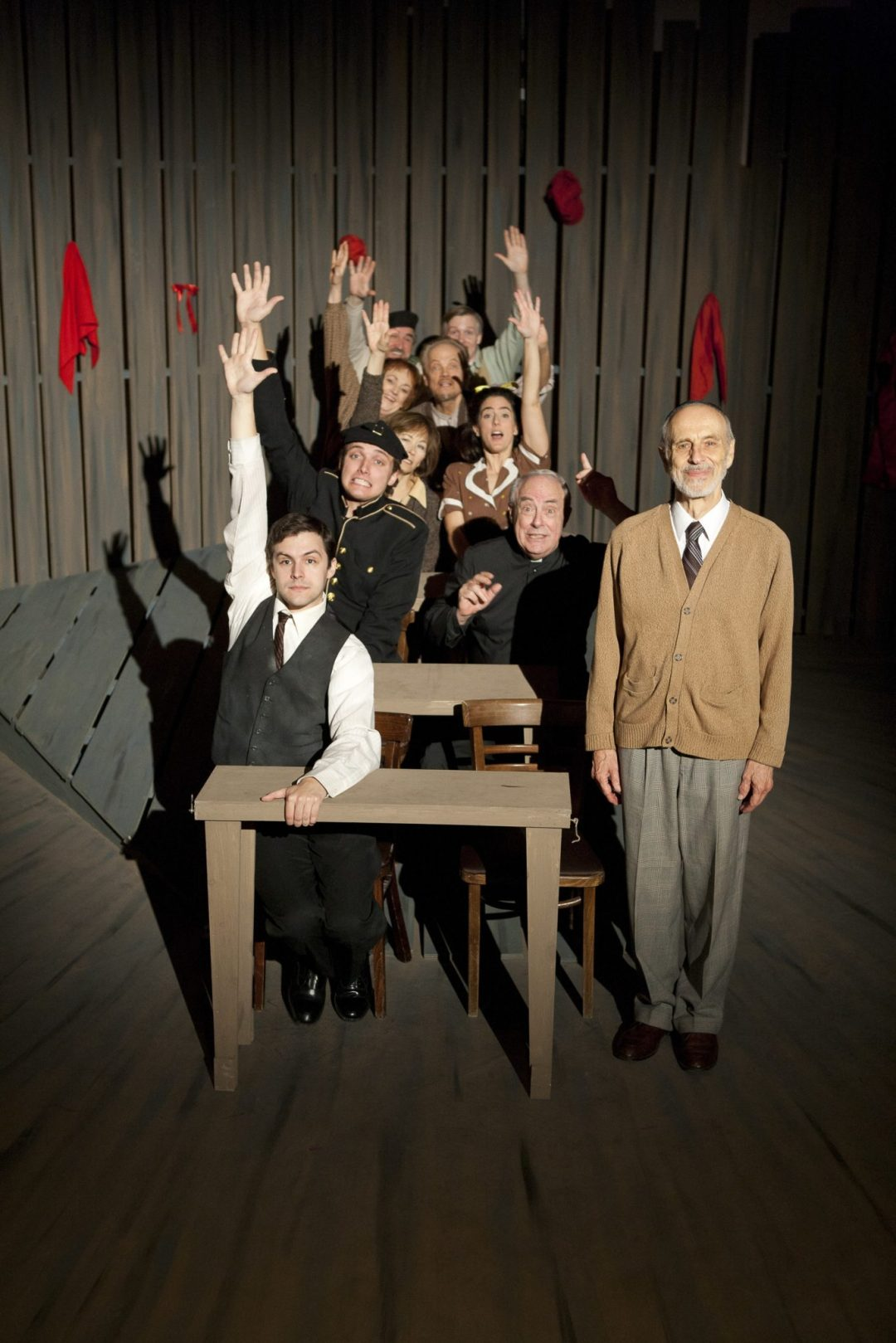 "Our Class, 2011. Image by Sarah Whiting. Courtesy of Minnesota Jewish Theatre Company <a href=""http://mnjewishtheatre.org/"" target=""_blank"">Minnesota Jewish Theatre Company</a>"