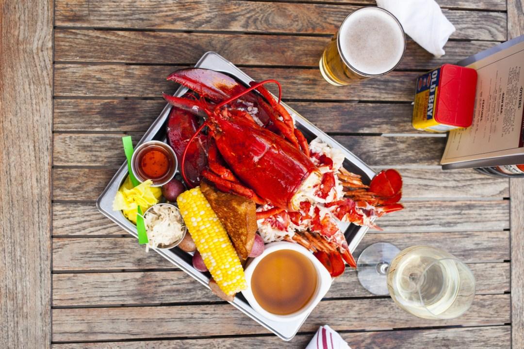 Lobster at Smack Shack. Image by TJ Turner/Greenspring Media
