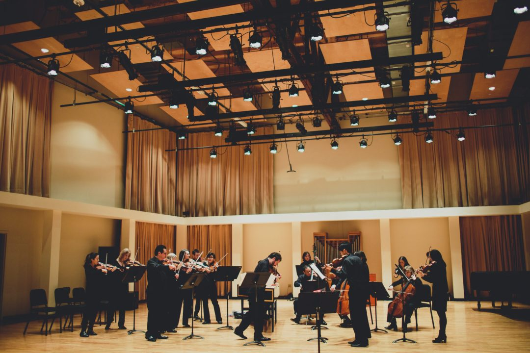 """The Saint Paul Chamber Orchestra Rehearsal. Image by <a href=""""http://ashandjamesphotography.com/"""" target=""""_blank"""">Ash & James Photography.</a> Courtesy of <a href=""""https://flic.kr/p/jxPYj3"""" target=""""_blank"""">Knight Foundation</a>"""