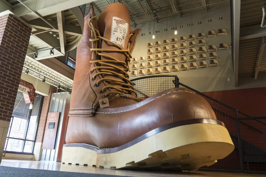 World's Largest Boot in Red Wing