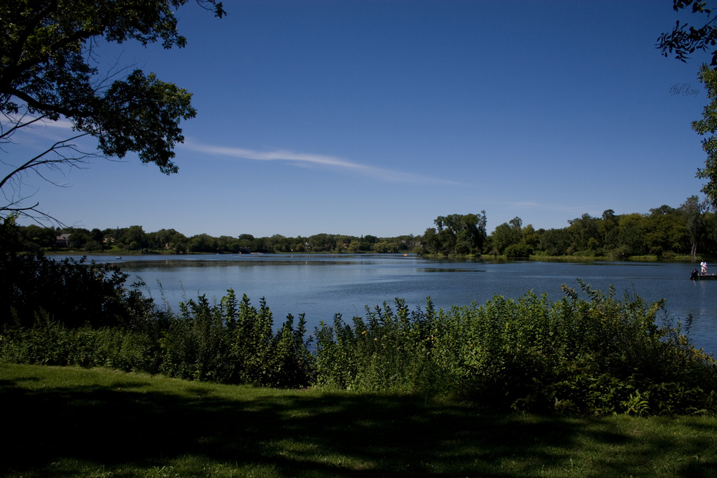 """Lake of the Isles. Image by <a href=""""https://flic.kr/p/6Sjv3S"""" target=""""_blank"""">IsilB/flickr </a>"""