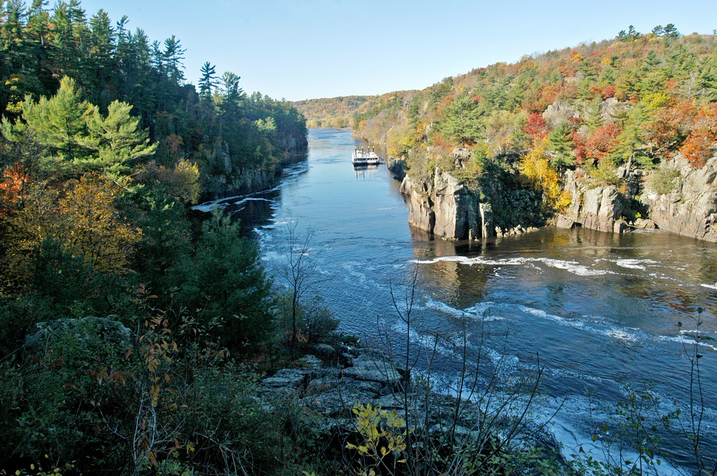 """St. Croix River. Image by <a href=""""https://flic.kr/p/aYTz9k"""" target=""""_blank"""">Wisconsin Department of Natural Resources/flickr</a>"""