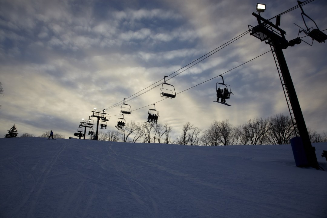 Ski Slope. Image by Todd Buchanan/Greenspring Media