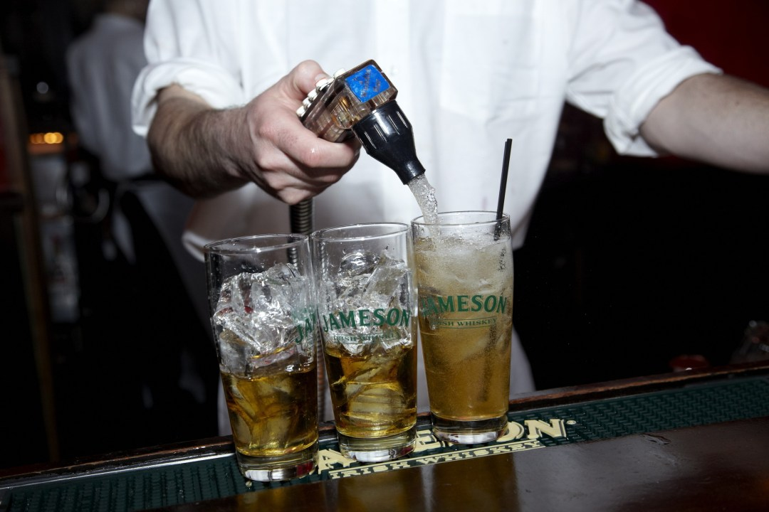 Jameson whiskey at The Local Photo by Todd Buchanan/Greenspring Media