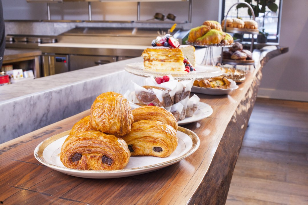 Pastries at Spoon and Stable. Image by TJ Turner/Greenspring Media