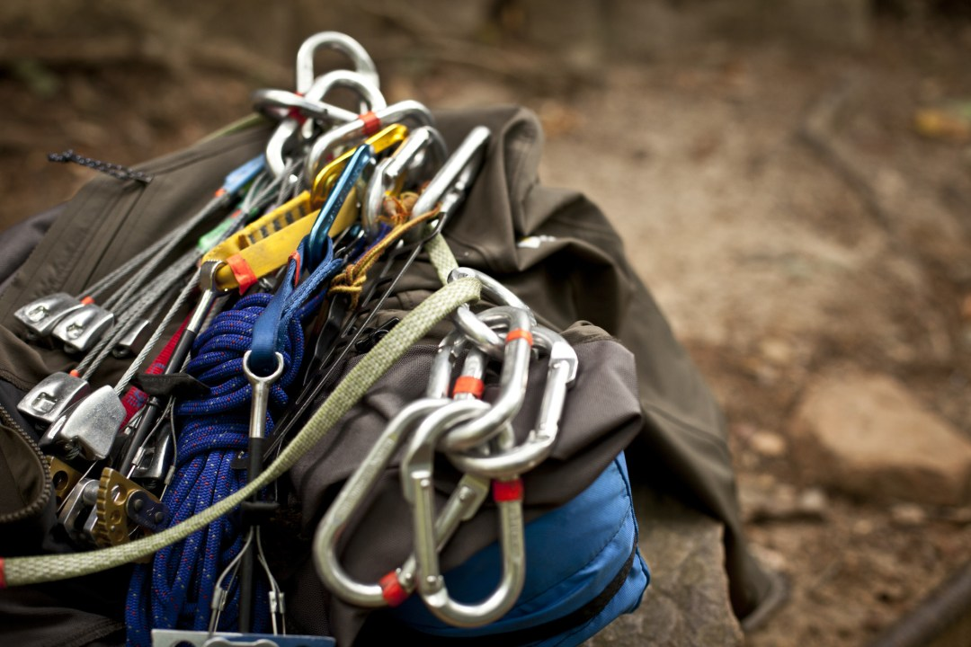Climbing Equipment. Image by TJ Turner/Greenspring Media