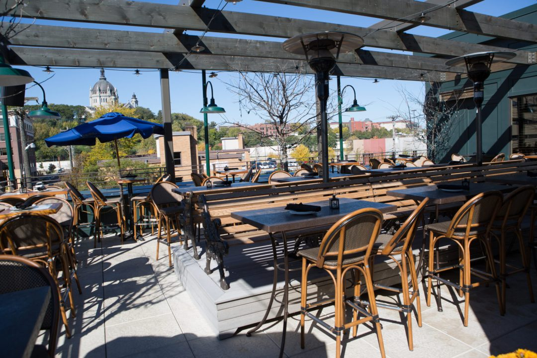 Louis Rooftop Patio Photo by Erica Loeks/Greenspring Media
