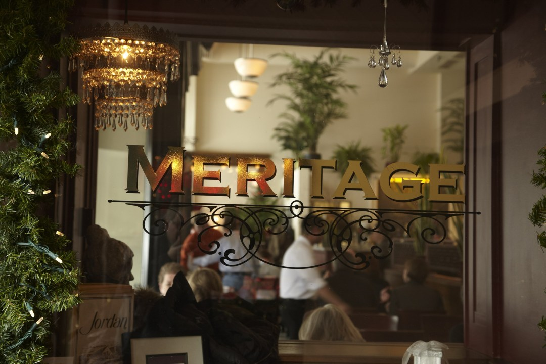 Meritage from outside Photo by Todd Buchanan/Greenspring Media
