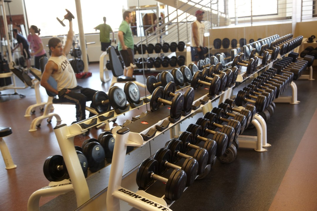 Indoor sports facility. Image by Todd Buchanan/Greenspring Media