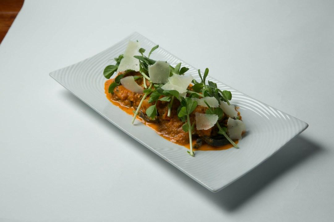 Shrimp Pasta at The Happy Gnome Photo by Todd Buchanan/Greenspring Media