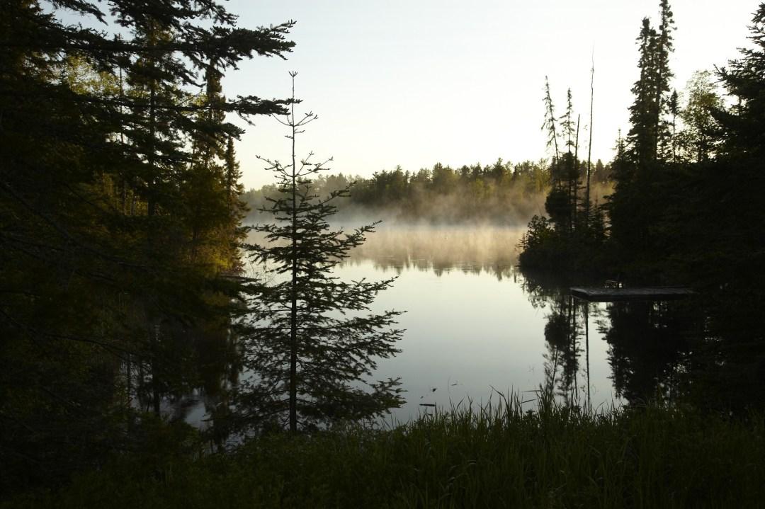 Fog along the Gunflint Trail