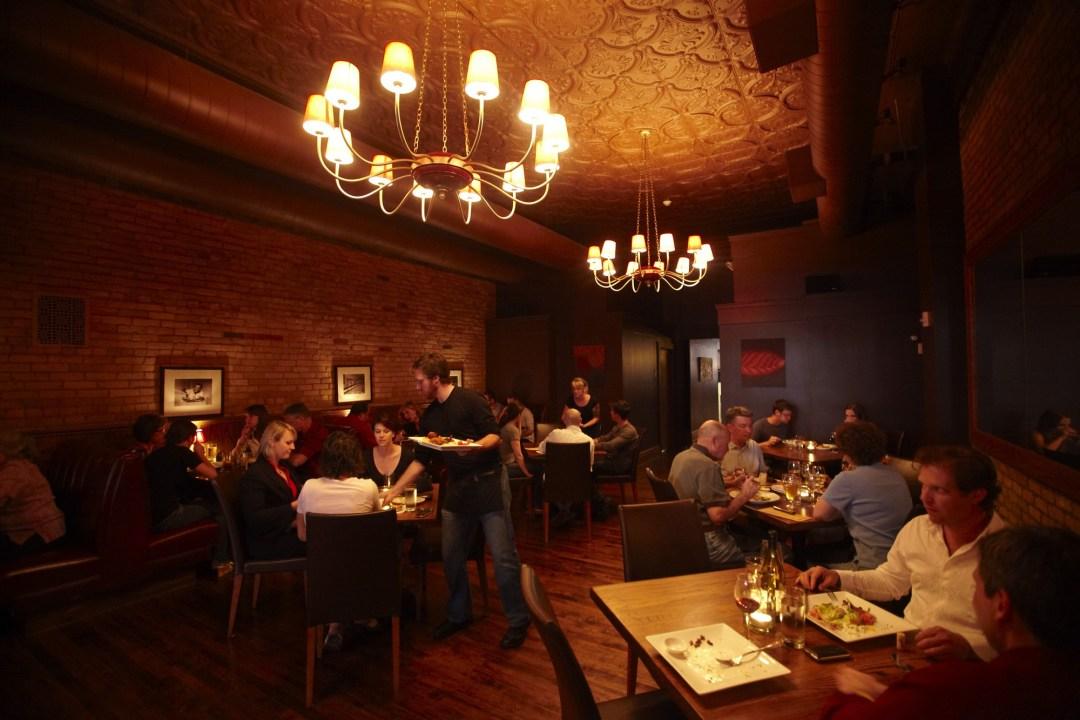 HauteDish dining room Photo by Todd Buchanan/Greenspring Media