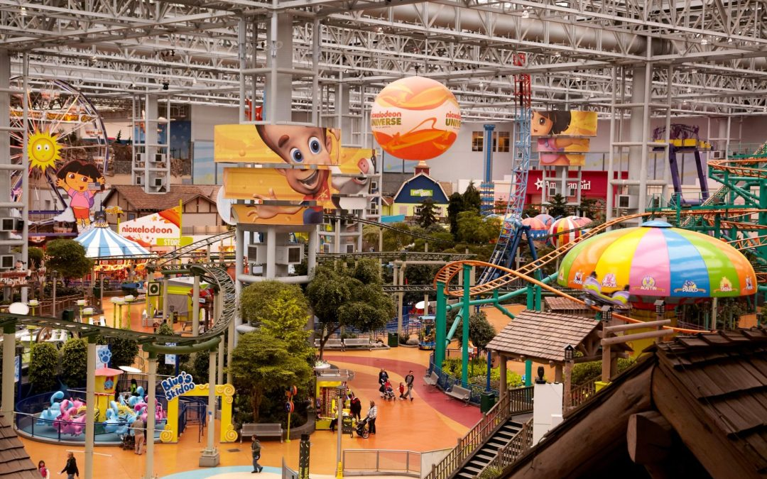 A Day at Nickelodeon Universe