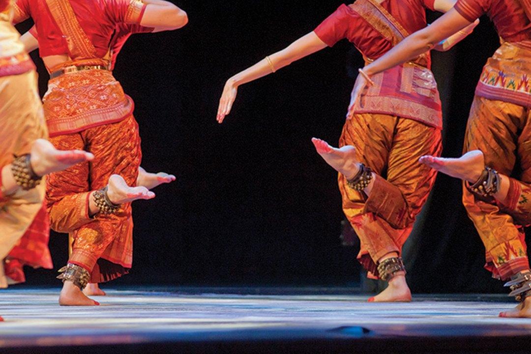 """Ragamala Feet. Image by Hub Willson. Courtesy of <a href=""""http://www.ragamaladance.org/"""" target=""""_blank"""">Ragamala Dance Company</a>"""
