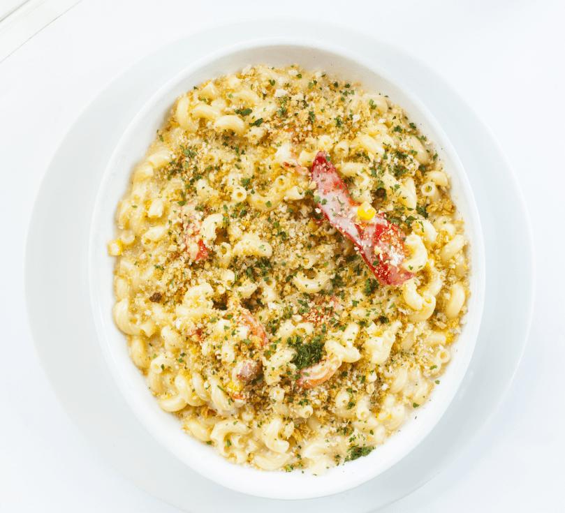 Lobster Mac & Cheese. Image by TJ Turner/Greenspring Media