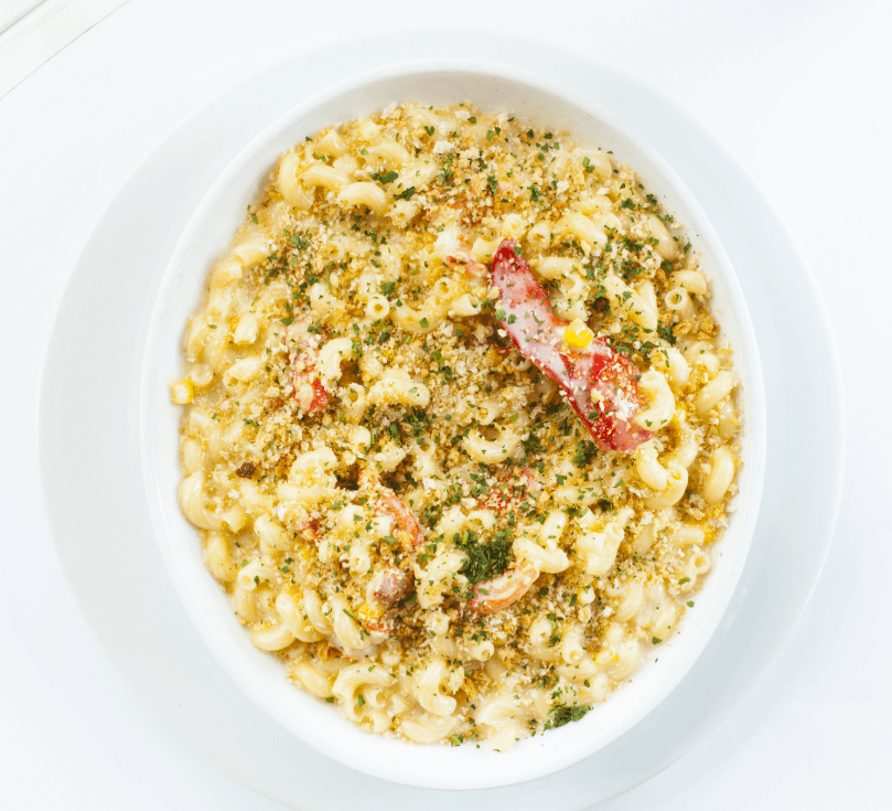 Lobster Mac & Cheese. Image by TJ Turner/Greenspring Media