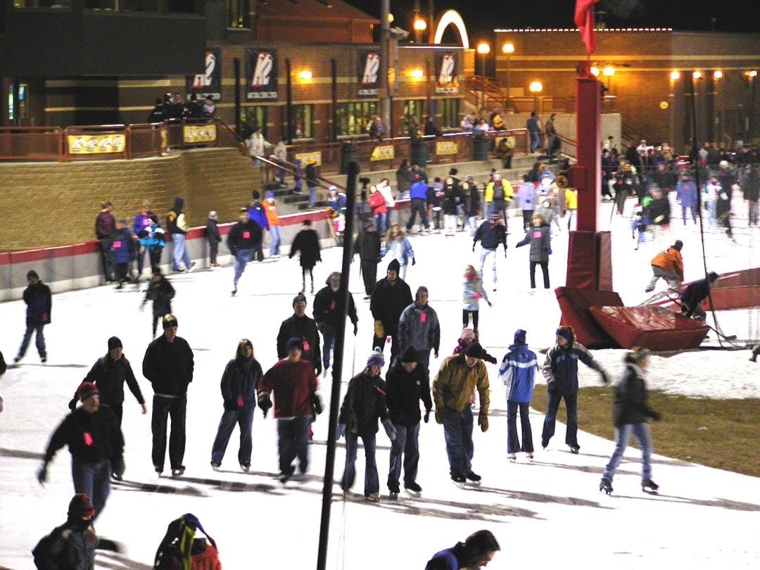 """New Year's at the OVAL. Image by <a href=""""http://www.skatetheoval.com/page/show/200439-home"""" target=""""_blank"""">Guidant John Rose MN OVAL</a>"""