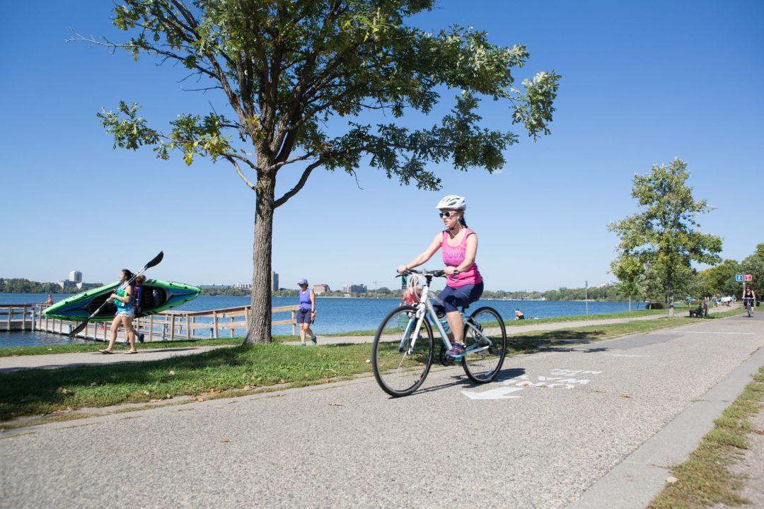 Biker Photo by Erica Loeks/Greenspring Media