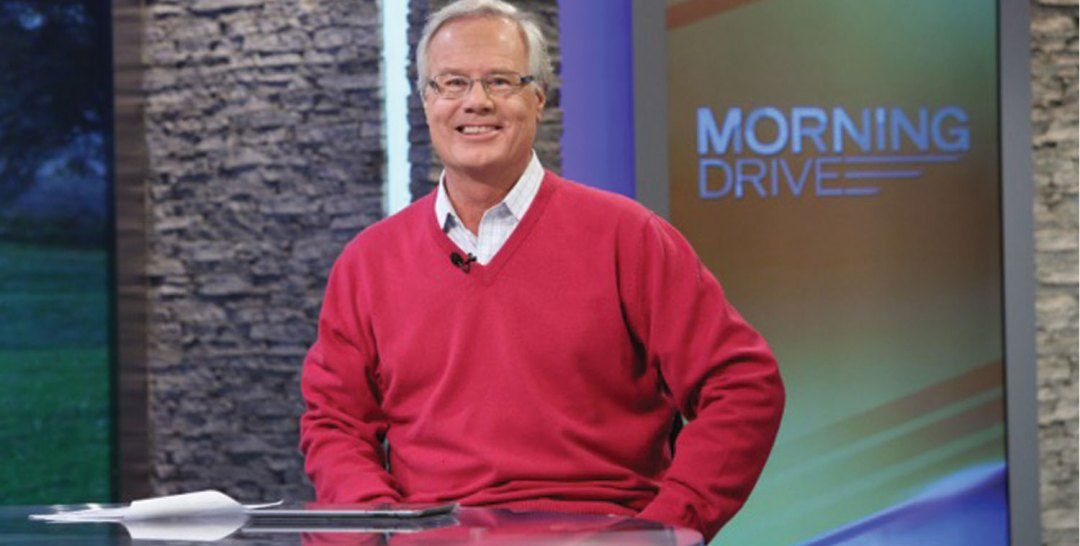 A headshot of Golf Channel's Mark Rolfing.