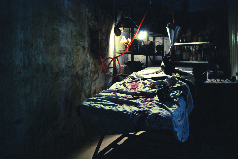 The Soap Factory's haunted basement Halloween attraction