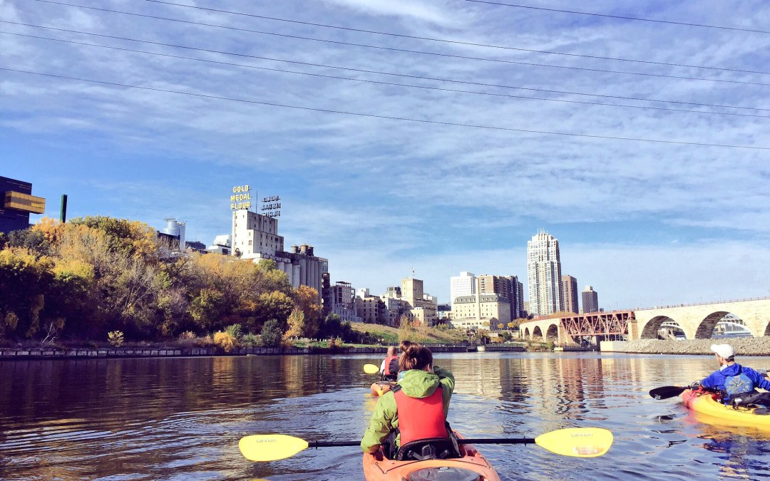 Kayaking the Mighty Mississippi