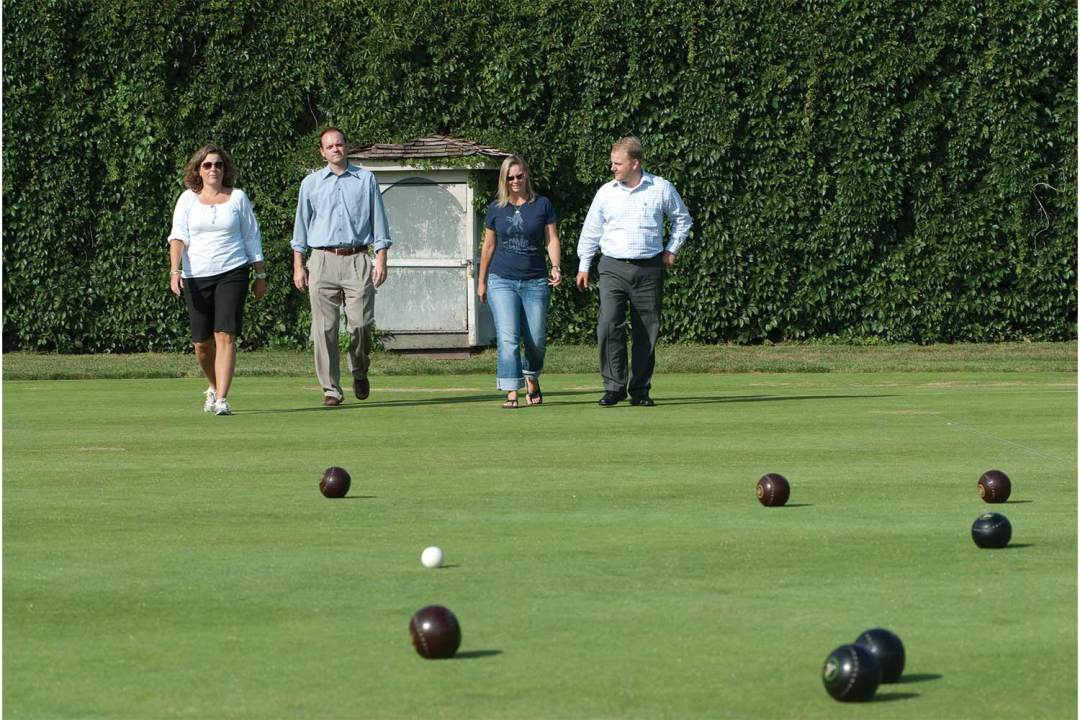 Bocce Ball Outdoors