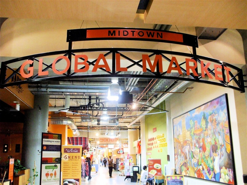 Dining at the Midtown Global Market