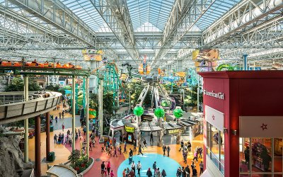Sky High Fun at Nickelodeon Universe