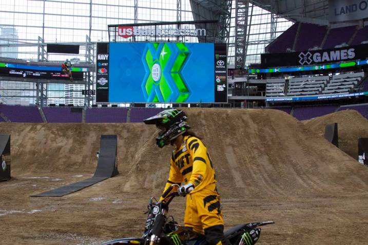 Moto X practice at X Games Minneapolis 2017.
