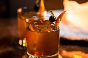 An Old Fashioned cocktail from Constantine.