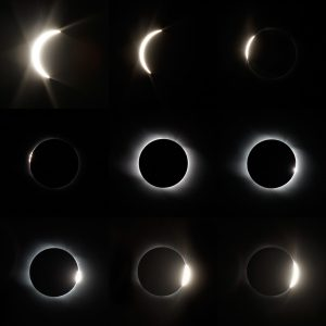 The total Solar Eclipse in Altai region of Russia August 01, 2008