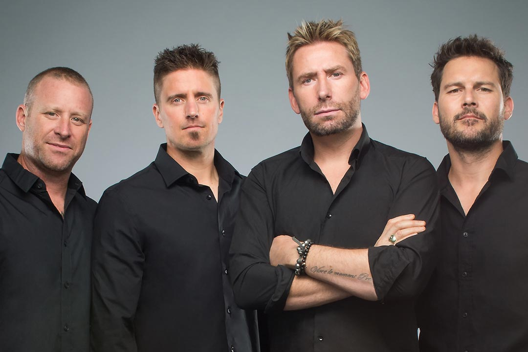 A portrait of Nickelback