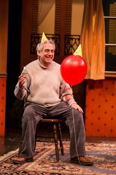 Robert Dorfman in Balloonacy at The Children's Theatre, photo by Dan Norman
