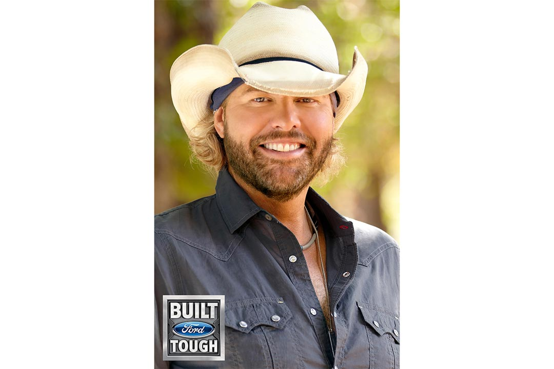 A portrait of Toby Keith.