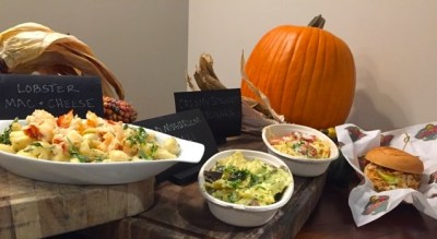 A snapshot of some of the Reserve and suite level foods, such as lobster mac and cheese. Photo by Claire Noack.