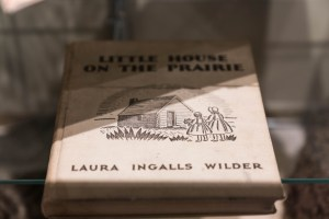 "Photo of the cover of the book ""Little House on the Prairie"""
