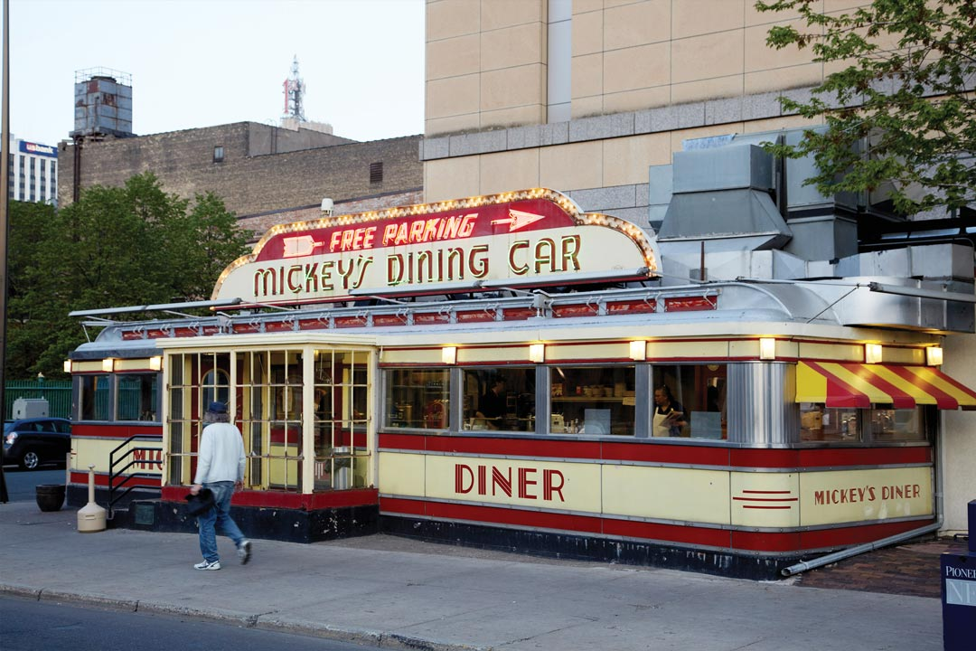 Mickey's Dining Car in downtown St. Paul.