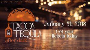Tacos & Tequila After Dark logo.
