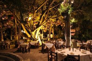 Nuevo Vallarta / Flamants: Le restaurant Dinomita, NNuevo Vallarta