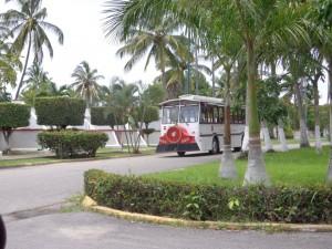 Nuevo Vallarta / Flamingos: Free Trolly in Nuevo Vallarta Nayarit Mexico