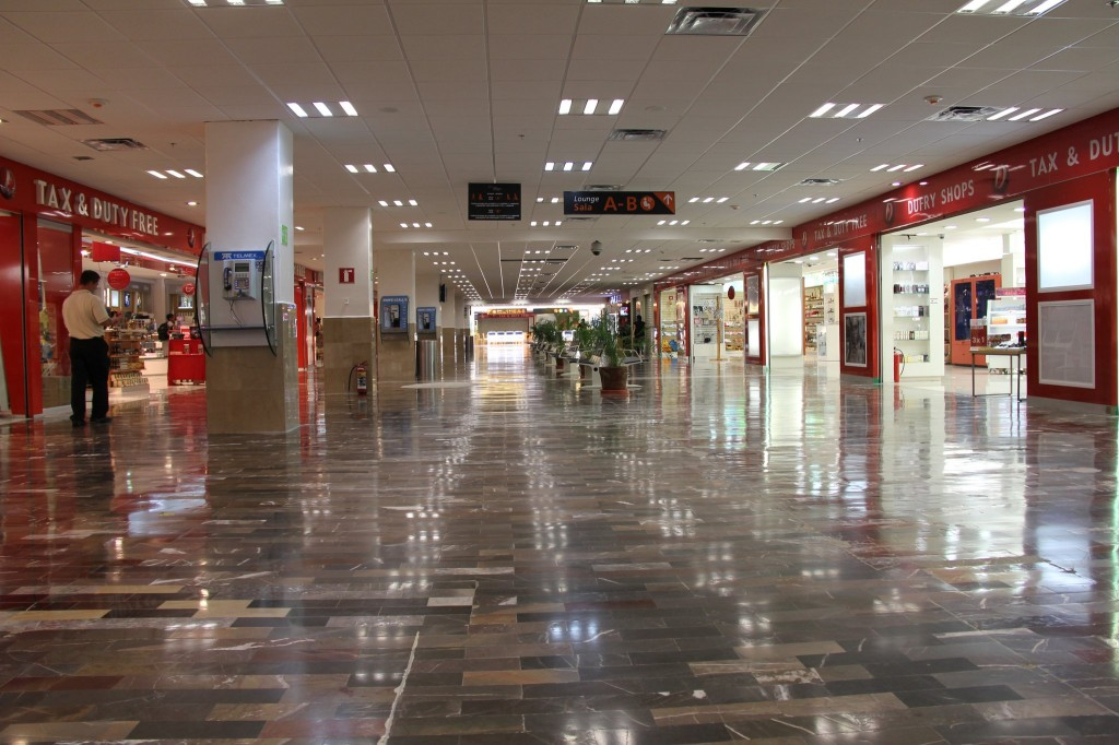 PVR Aiport Puerto Vallarta Mexico Duty Free Shops