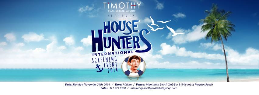 House Hunters International de Puerto Vallarta Charity Event 2014