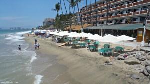 Los Muertos Beach in Puerto Vallarta, Mexico is a great tourist and retirement destination. | www.visit-vallarta.com